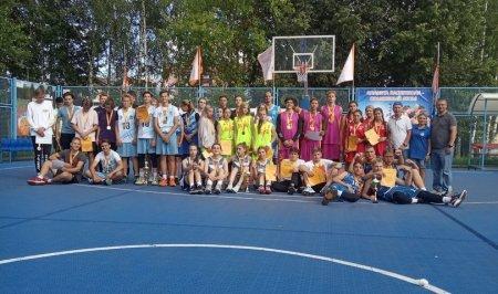 Оранжевый мяч 3х3 баскетбол